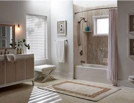 Bath Conversion - Shower to Tub Conversion Photo 2