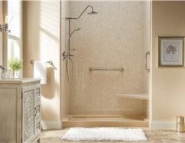 Bath Conversion - Tub to Shower Conversion Photo 3