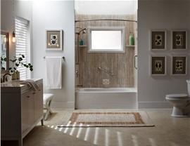 Bathtub - Bathtub Shower Combo Photo 4