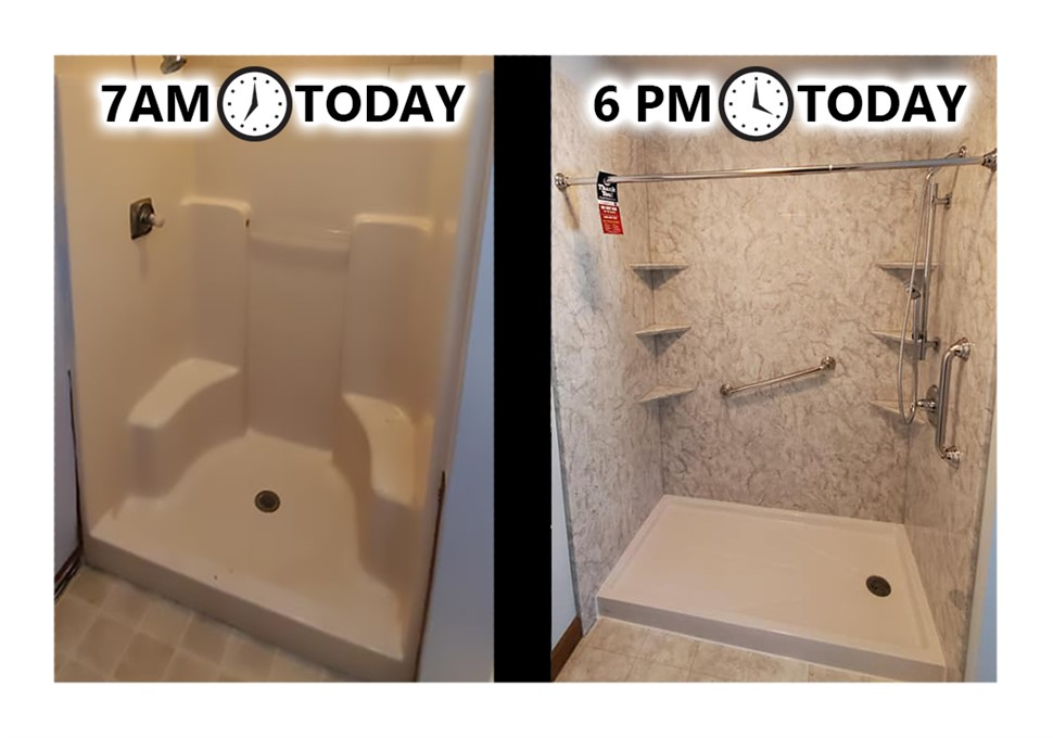 1 Day Shower Replacement