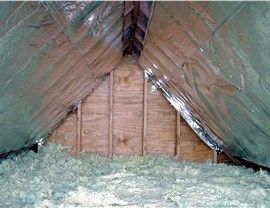Attic Insulation Photo 1