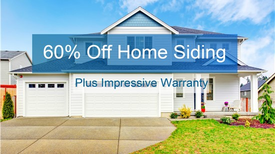 Cut Costs with 60% Off Home Siding