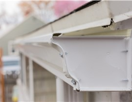 Seamless gutters Photo 4