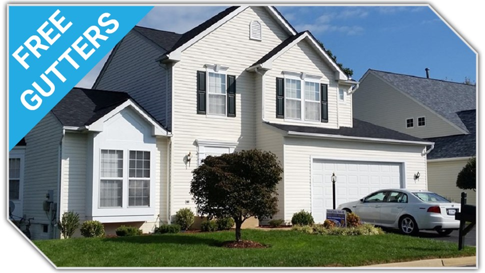 FREE gutters with siding purchase