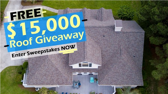 Enter Now to Win a $15,000 Roof, For Free!