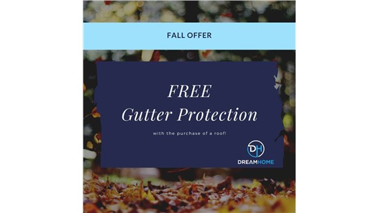 Special Offer: Free Gutter Protection