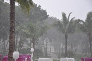 tropical storm heavy rain