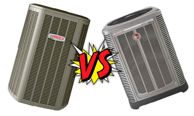 Lennox vs  Rheem Air Conditioners - Direct Air Conditioning