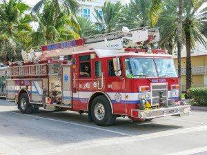 firetruck in miami