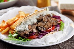 greek gyro from souvlaki in west palm beach