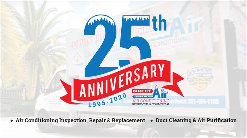 Direct AC Celebrates 25 Years of Service in Miami