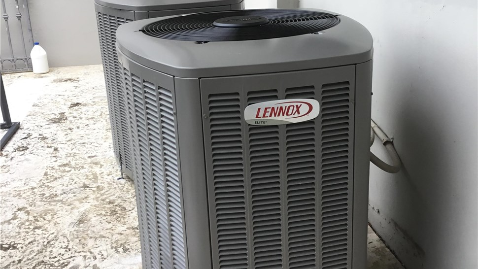 Lennox Air Conditioning Unit Installation