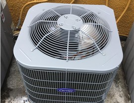 Carrier Air Conditioning Unit Installation