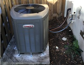 Lennox Air Conditioning Unit completed installation