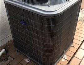 Carrier Air Conditioning Unit Completed Install