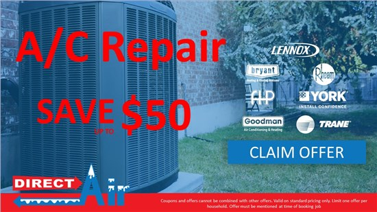 Save Up to $50 on AC Repair
