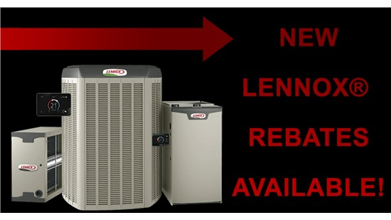 Get up to $1,200 in Lennox Rebates!