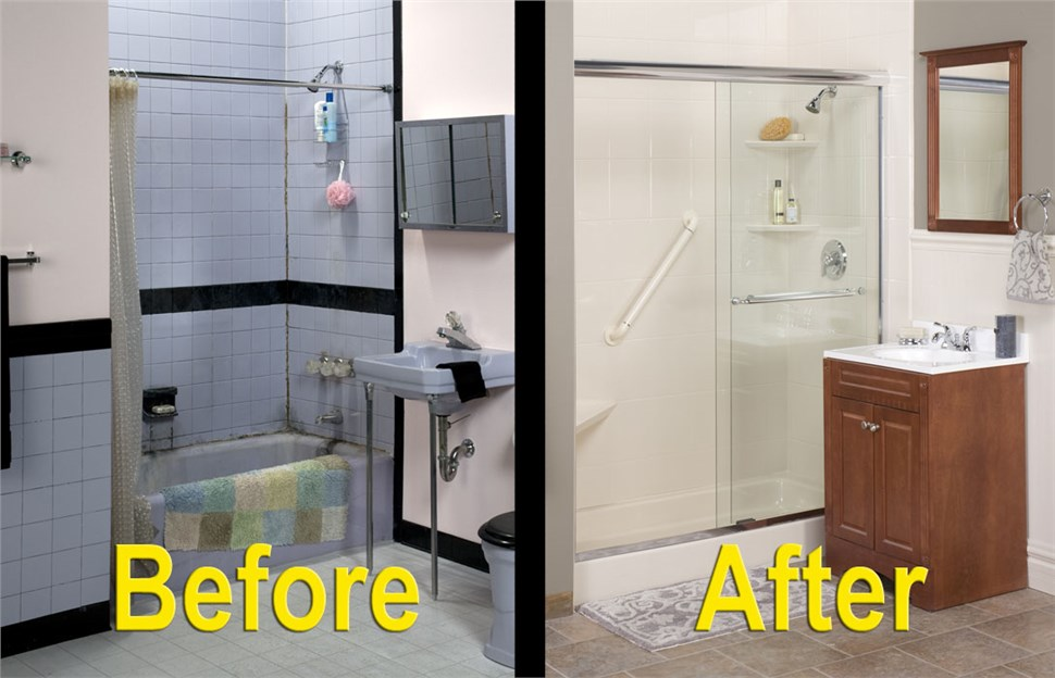 Buy 1 Bath Remodel - Get 2nd One 50% OFF + No Interest/No Payments for 12 Months