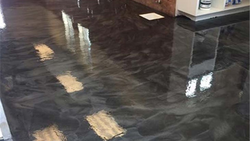 Kansas City Mo Metallic System Flooring Kansas City Ks Metallic