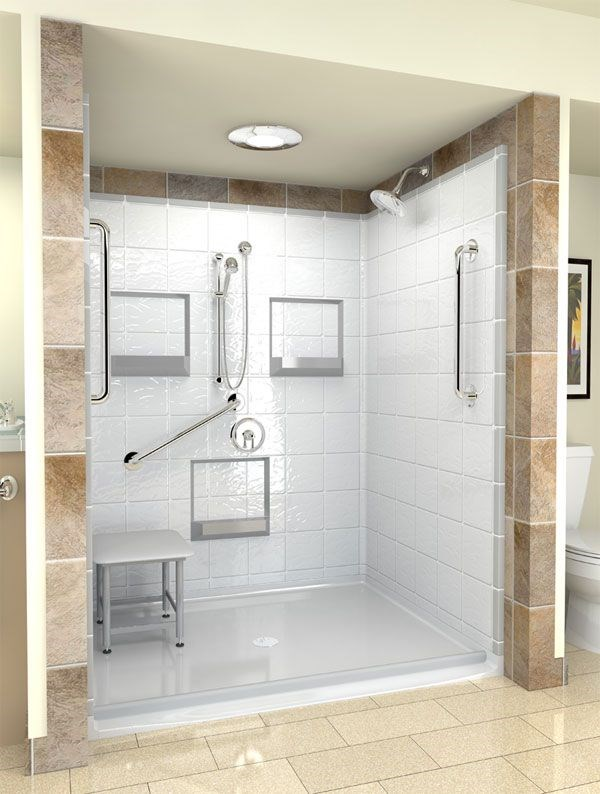EZ Baths: Walk-in Shower Tubs: Safe, Functional, Versatile