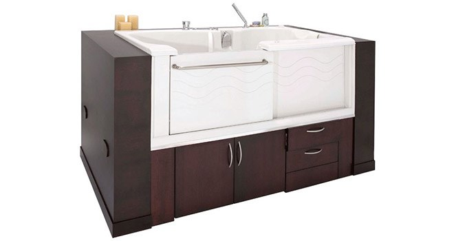Walk-in Tubs Create Safe Bath Zones for Seniors