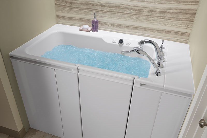 The Top Five Benefits of a Walk-In Bathtub