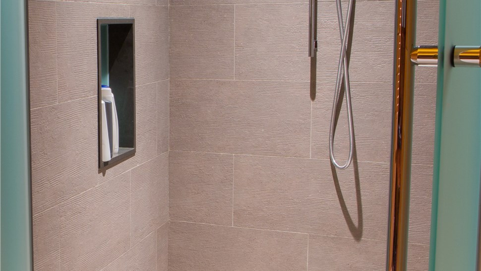Baton Rouge Crushed Stone Showers Custom Shower Floor Ez Baths