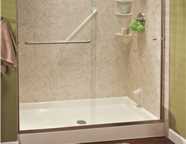 Shower Bases| EZ Baths | Baton Rouge Bath Remodeler