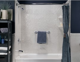 Tub to shower conversion | EZ Baths | Baton Rouge Bath Remodeler