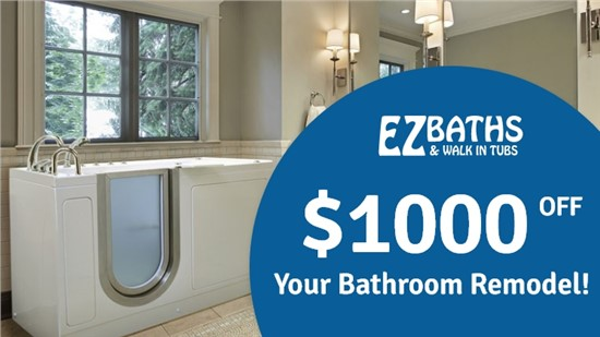 $1000 off your bathroom remodel!