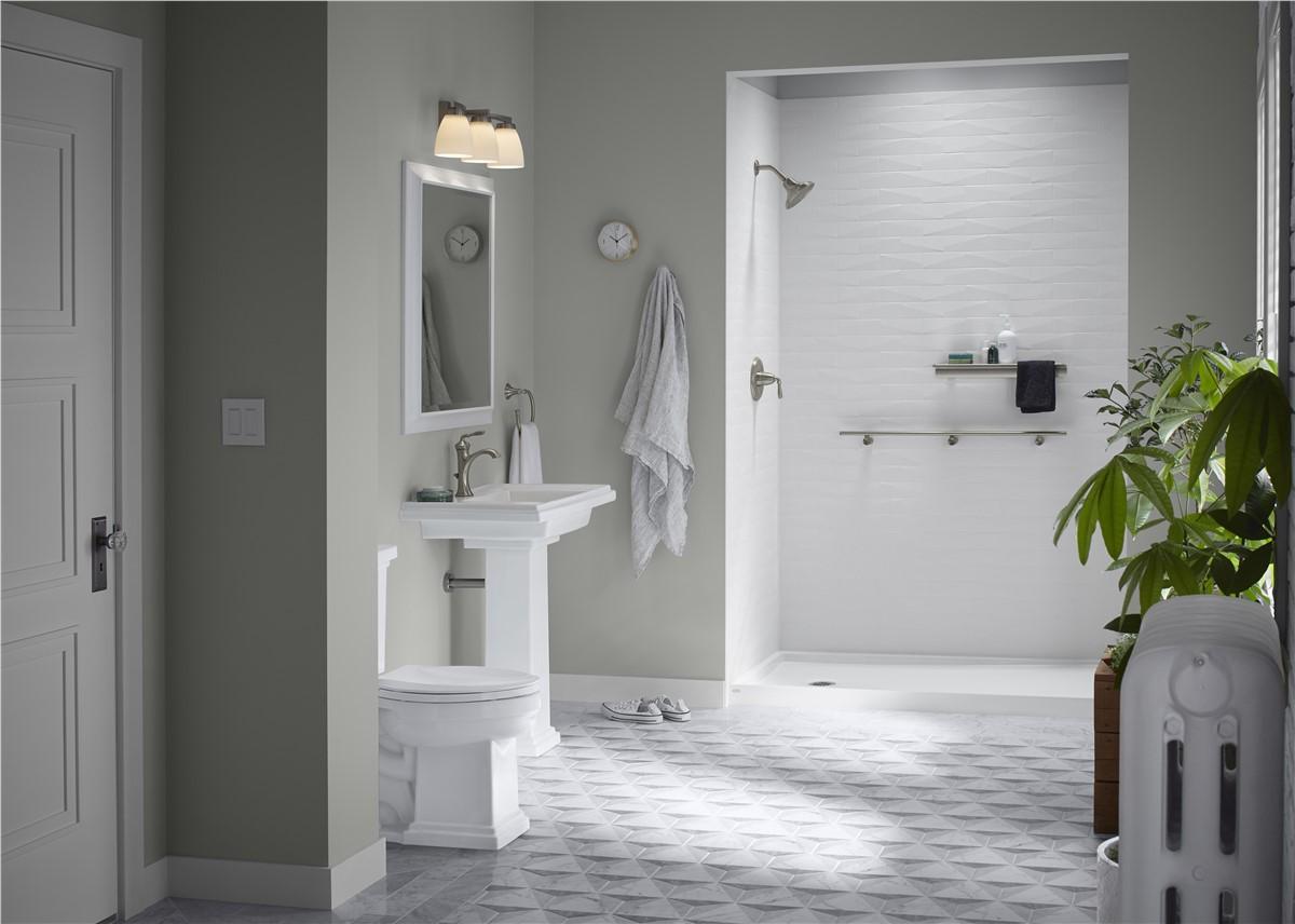 Lakeland Kohler LuxStone Shower Installation Company | FHIA