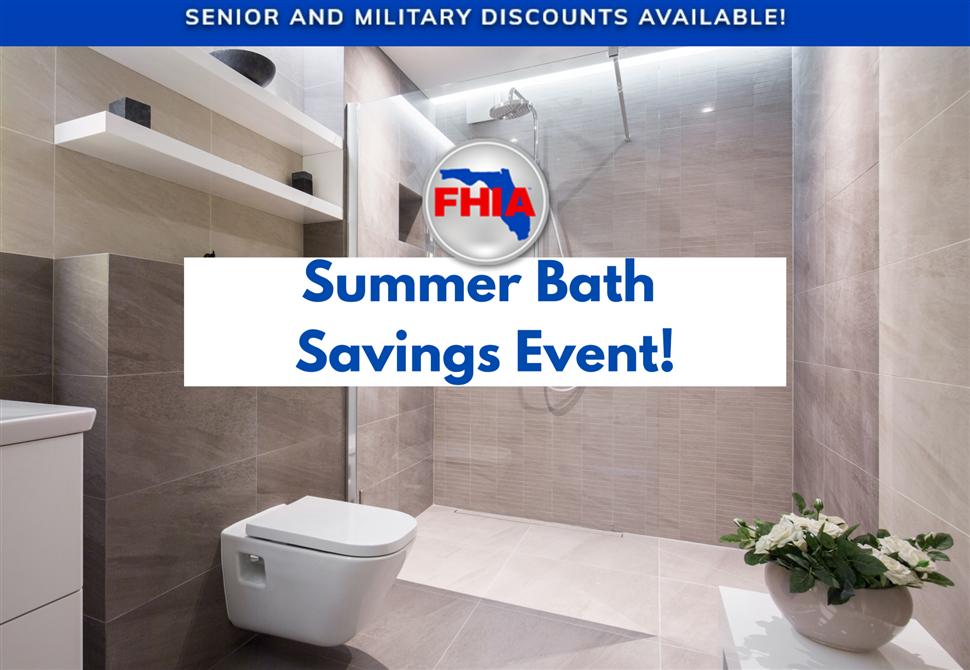 Summer Bath Savings Event!