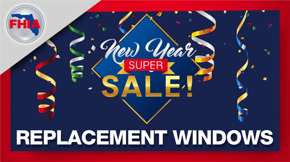 New Year's Saving Sale on Windows!