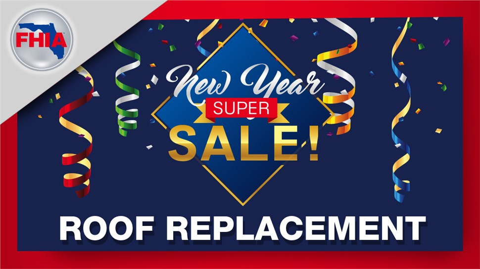 New Year's Saving Sale on Roof Replacement!