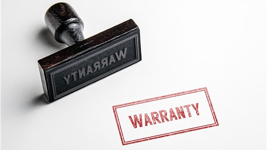 Impressive Warranties for Total Peace of Mind