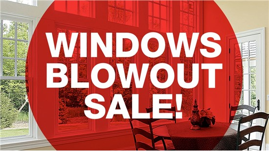Get $1000 Off a Houseful of Windows!