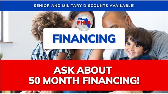 50 Month Financing Options