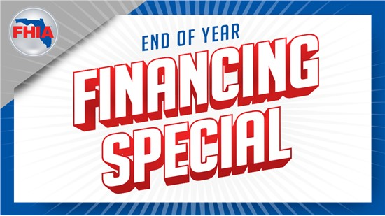 End of Year Financing Special