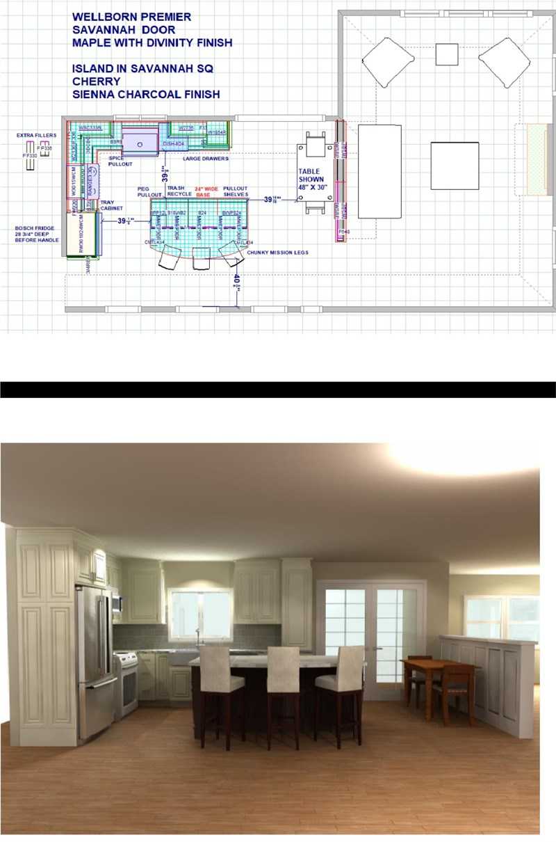 What to Expect in the Kitchen Design Process, By Fiderio & Sons Home ...