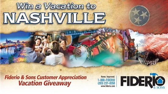 Customer Appreciation Vacation Giveaway