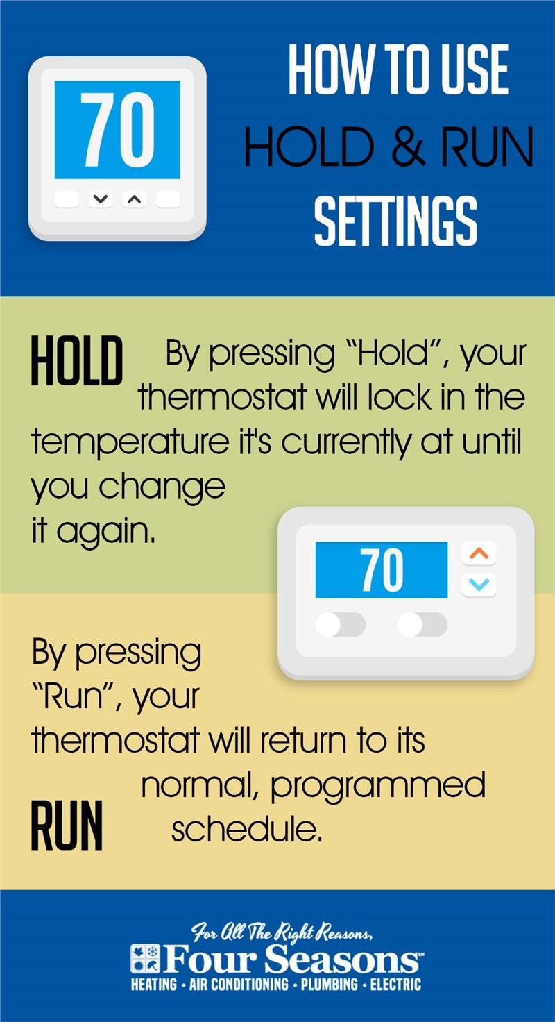 thermostat hold run