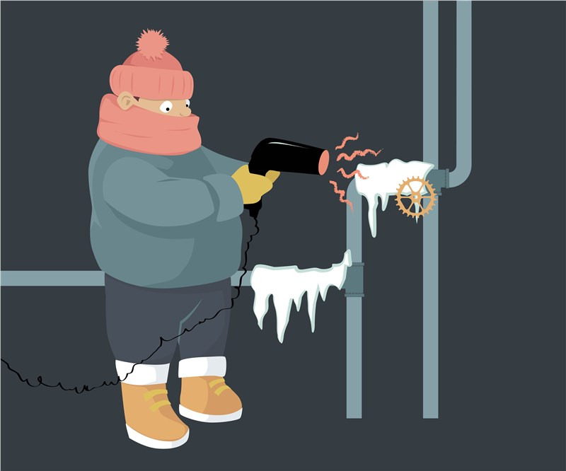 What to Do if Pipes Freeze During Winter