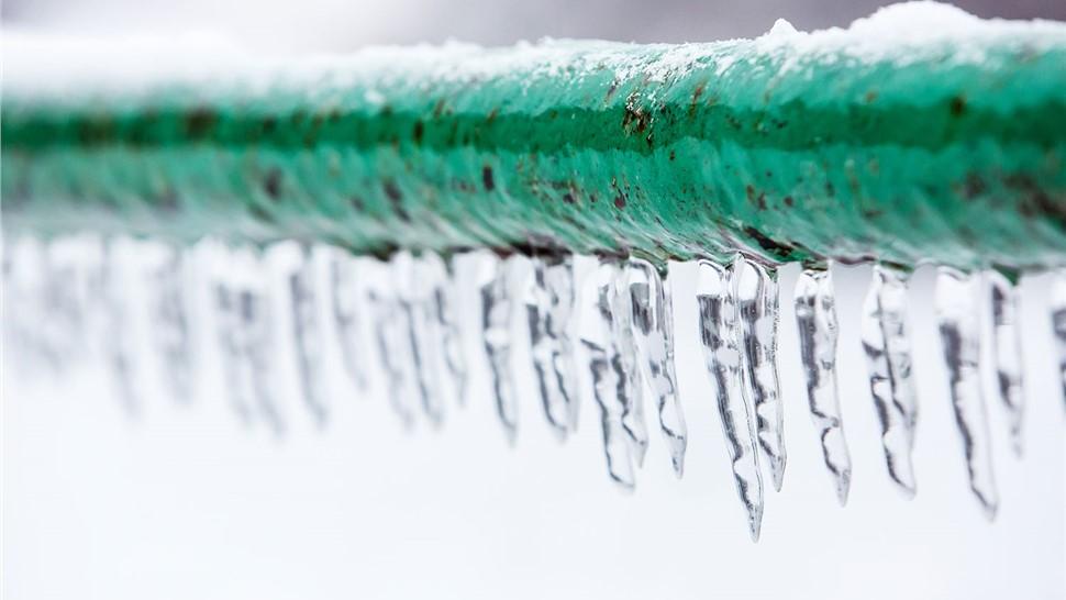 Plumbing - Frozen Water Lines Photo 1