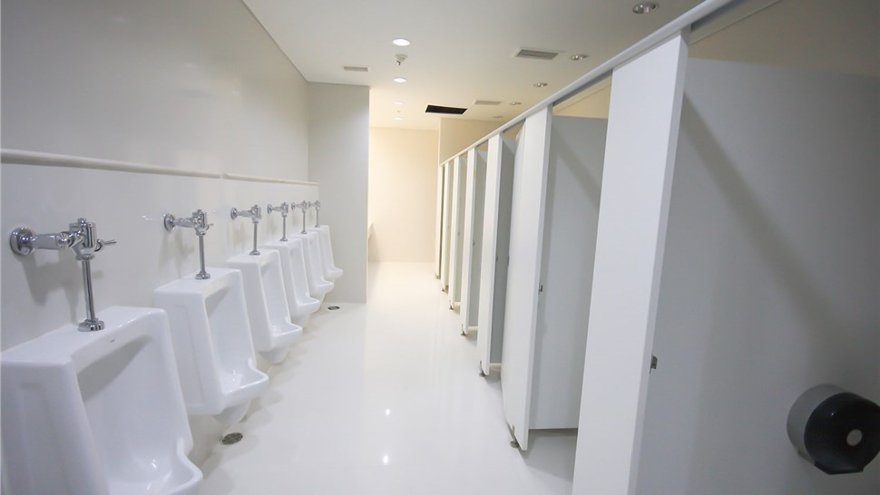 Commercial Plumbing - Commercial Toilet Installation Photo 1