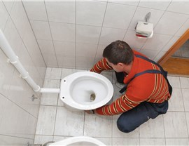 Commercial Plumbing - Commercial Toilet Installation Photo 2