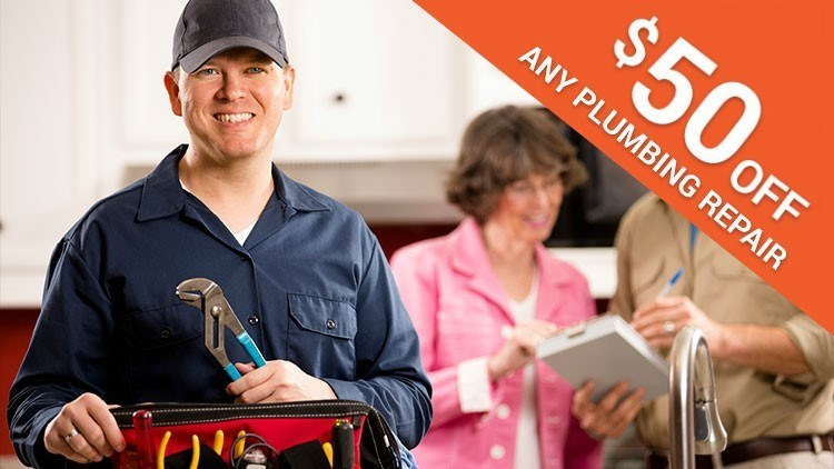 $50 Off Any Plumbing Repair