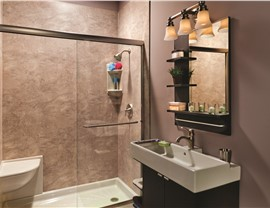 Bathroom Remodeling - Replacement Showers Photo 4