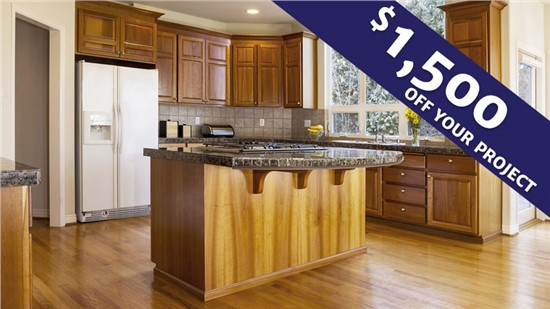 $1,500 Off Your Kitchen Remodeling Project