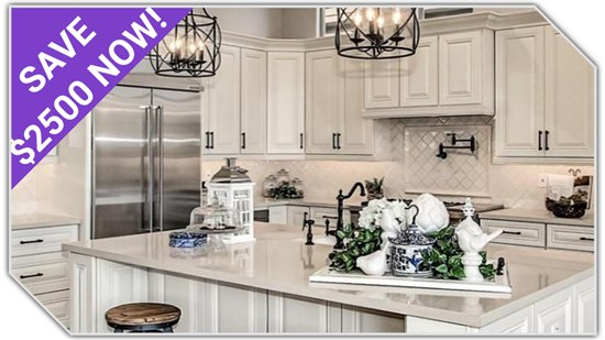 $2500 OFF your brand new dream kitchen