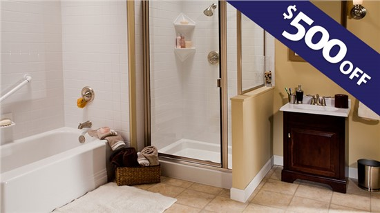 $500 Off a Bathroom Remodel